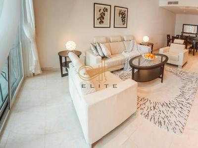 Spacious 2BR in Marina heights tower, Dubai Marina Walk for monthly rentals on short term contracts