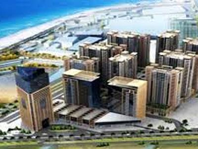 SUPERB OFFER TWO BEDROOM PLUS HALL WITH AMERICAN KITCHEN FOR RENT WITH PARKING AT AJMAN ONE IN 31000