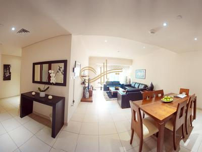 2BR Furnished apartment in Marina walk , in marina heights tower for short term weekly rentals