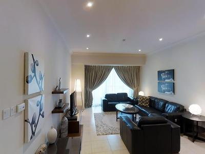 Marvellous 2BR with spacious Living room available for monthly rentals in Marina heights tower, Dub
