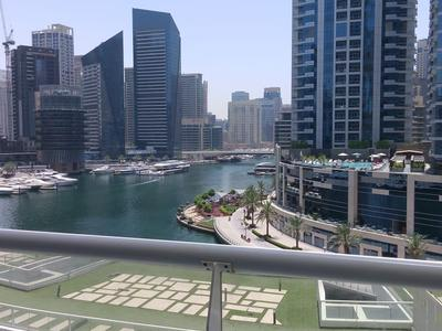 best offer 5999AED only 1 BR FULL fully furnished full marina view  all bills incl