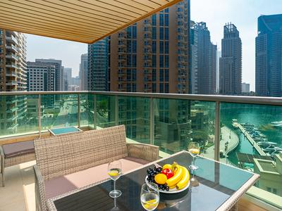 Full Marina View | Lovely Apartment | Al Yass Tower