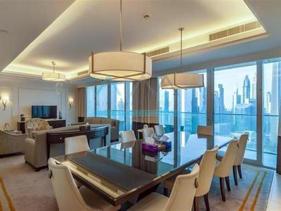 Property for Sale photos in Downtown Dubai: LUXURIOUS 4 BR+MAID ADDRESS BLVD DOWNTOWN - 1