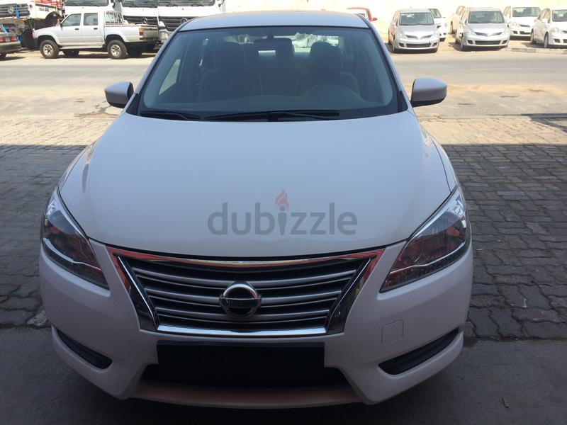 NISSAN SENTRA 2015 LOW EMI MONTHLY AED 418/= (For Sixty Months)