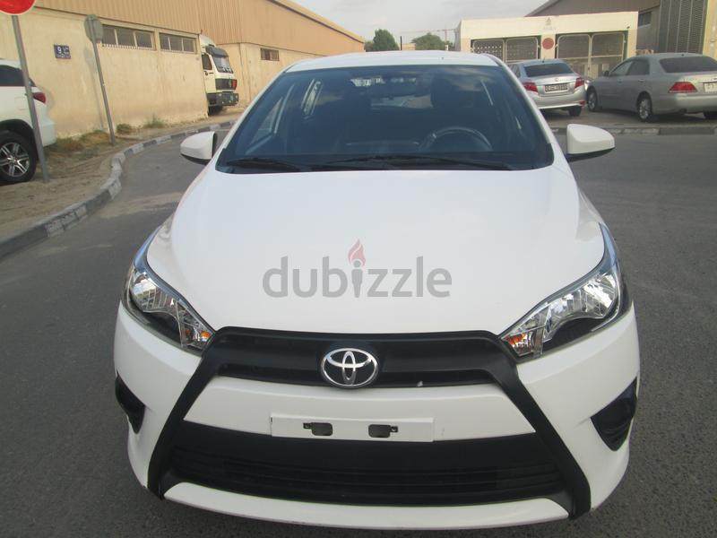 TOYOTA YARIS HATCHBACK 2015 LOW EMI 411/-(For Sixty Months)