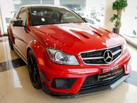 مرسيدس بنز الفئة-C 2012 Mercedes-Benz C 63 Black Series