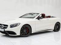 مرسيدس بنز الفئة-S 2017 Mercedes-Benz S63 Cabriolet 2017 White-Red 28...