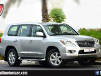 لكزس سلسلة-LX 2009 GCC - LEXUS LX570 2009 - JUST 58000KM - FULL ...