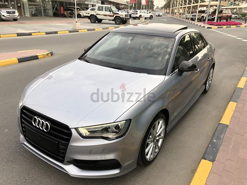 Audi A3 40 Tfsi Top Of The Range S Line 2016 Gcc Fsh 1150 Monthly