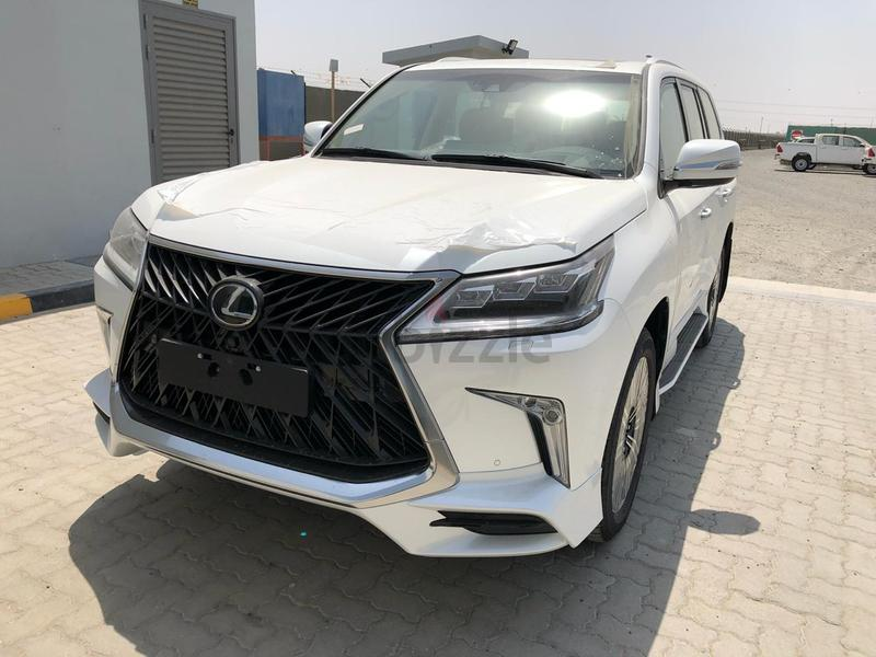 2019 - LEXUS LX-570 SUPER SPORTS FULL OPTION ( FOR EXPORT ONLY )