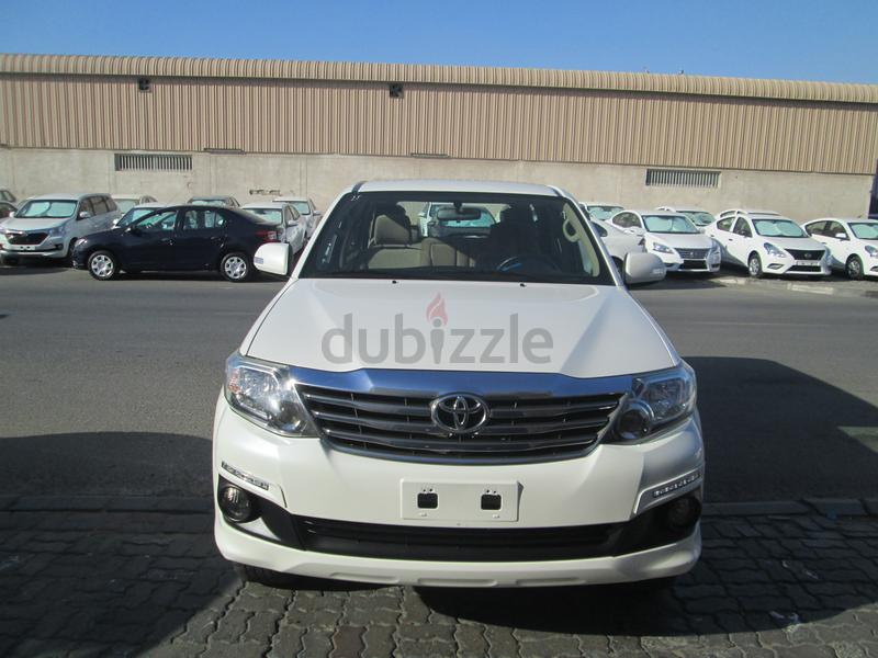 Toyota Pay By Phone >> Toyota Fortuner 2015 Mid Low Emi Monthly Aed 914 For Sixty Months