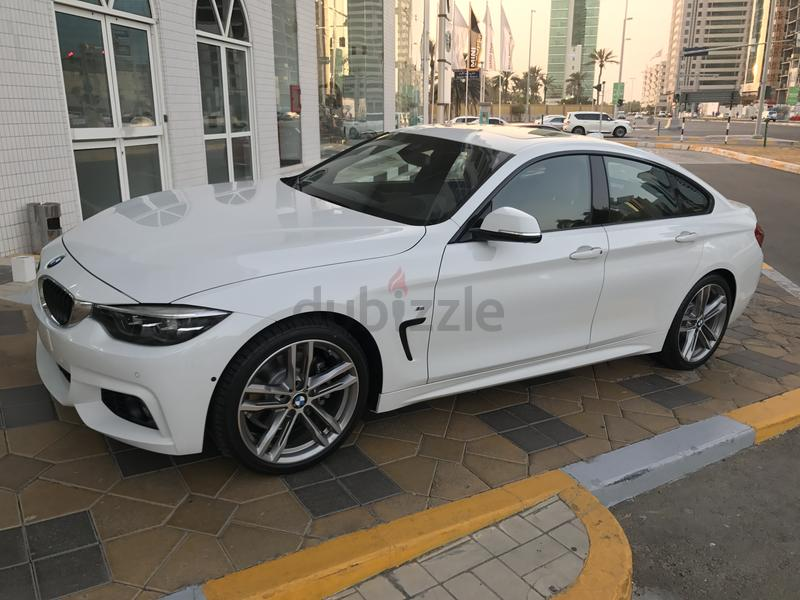 BMW 430i Gran Coupe 2018 M kit Full Option With Service and Repair Package