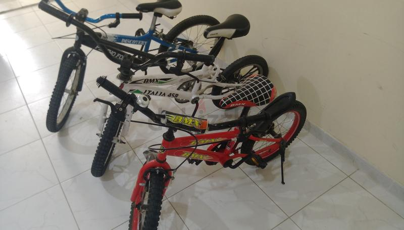 For sale 3 bikes for 500 AED