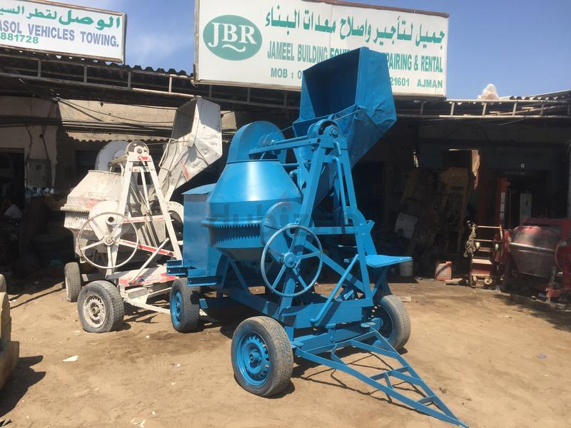 Uesd concrete mixer machine