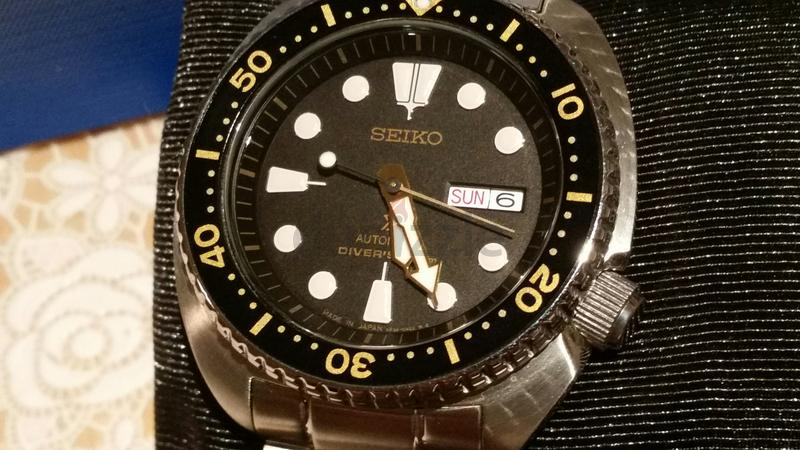 Seiko Turtle Automatic diver watch SRP775J1 Japanese Version