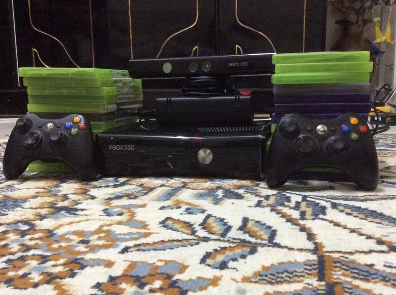 Xbox 360s with a camera and 24 games hurry up buy it!!! :)