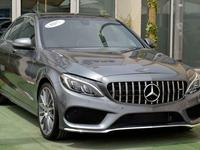 Mercedes-Benz C-Class 2017 MERCEDES C 300 2017 AMG KIT IN GREAT CONDITIO...
