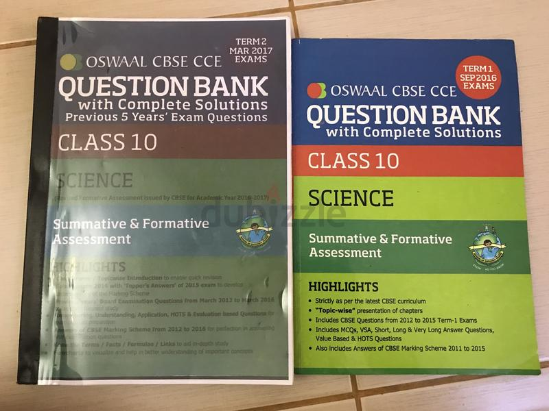 OSWAAL QUESTION BANK SCIENCE CLASS X (ONLY 15Dhs)
