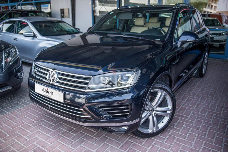 Inspected Car | 2015 Touareg R line | Warranty | Full VW service history |  GCC specs