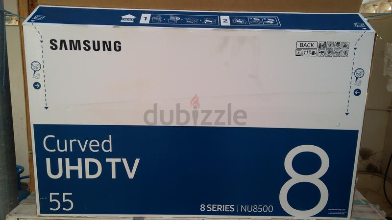 55 inches led tv empty box for cargo