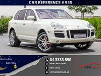 Porsche Cayenne 2008 PORSCHE CAYENNE TURBO - 2008 - GCC - PERFECT ...