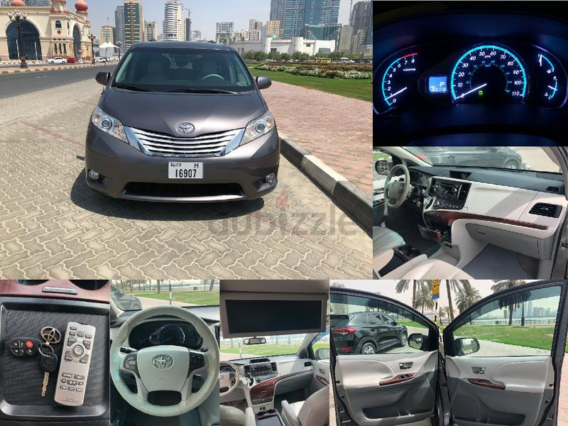 Toyota Sienna XLE Model 2011 perfect conditions