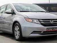 هوندا أوديسي 2016 HONDA ODYSSEY 2016 SILVER - GCC SPECIFICATION