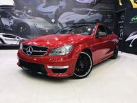 Mercedes-Benz C-Class 2012 ( 1650 AED PER MONTH ) MERCEDES C63 COUPE ///...