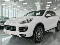 بورشه كايان 2015 PORSCHE CAYENNE S 2015 White under warranty