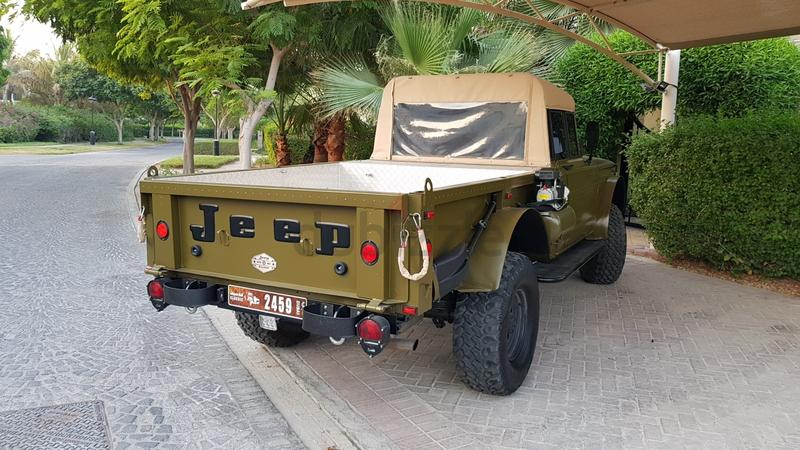ONLY ONE IN UAE! Jeep Kaiser M715-THE  Has WARRANTY and MAINTENANCE till  2022!!!