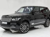 لاند روفر رينج روفر 2016 Range Rover Vogue Autobiography 2016 Black-Re...