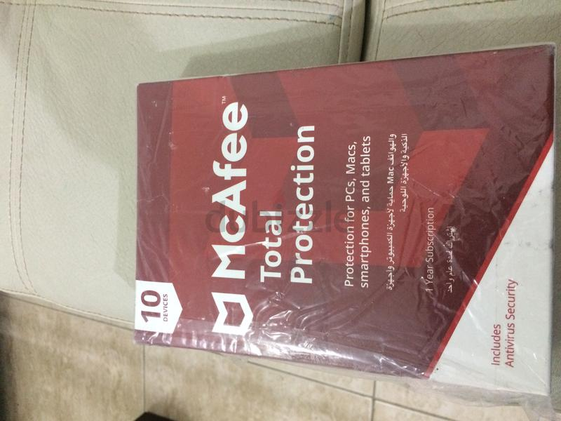 McAfee Total Antivirus Protection