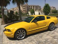 فورد موستانج 2006 Yellow - Black V6, Saleen Mustang