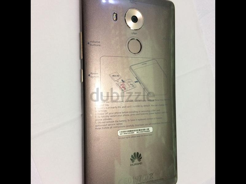 Huawei mate 8 in excellent condition 10/10