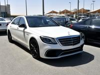 مرسيدس بنز الفئة-S 2014 2014 S-63 BI-TURBO A.M.G. 4-MATIC DIAMOND WHI...