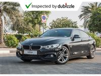 BMW 4-Series 2016 AED1312/month | 2016 BMW 420i 2.0L | Full BMW...