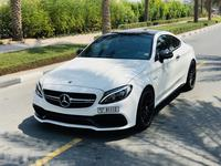 Mercedes-Benz C-Class 2017 C63S AMG coupe 2017 fully loaded carbon fiber...