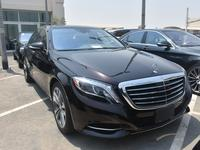 Mercedes-Benz S-Class 2015 SEDAN S-550 4-MATIC 2015 RUBY BLACK / ZERO AC...