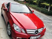 مرسيدس بنز الفئة-E 2011 A very clean Red E200 convertible Mercedes al...