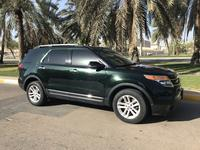 فورد إكسبلورر 2013 Ford explorer XLT dark green 2013