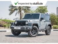Jeep Wrangler 2017 AED1319/month | 2017 Jeep Wrangler Willys Edi...