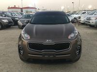 Kia Sportage 2018 ki sportage 2018 brown color clen carGCC