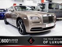 Rolls Royce Wraith 2014 *WRAITH 2014 VERY LOW MILEAGE - FSH FROM THE ...