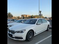 BMW 7-Series 2016 BMW 750 LI X DRIVE , WHITE, DEALER SERVICE AN...