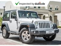 Jeep Wrangler 2016 AED1194/month | 2016 Jeep Wrangler Sport 3.6L...