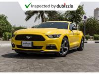 Ford Mustang 2016 AED1319/month | 2016 Ford Mustang 3.7L | Warr...