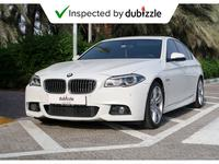BMW 5-Series 2015 AED1714/month | 2015 BMW 528i Mkit 2.0L | Ser...