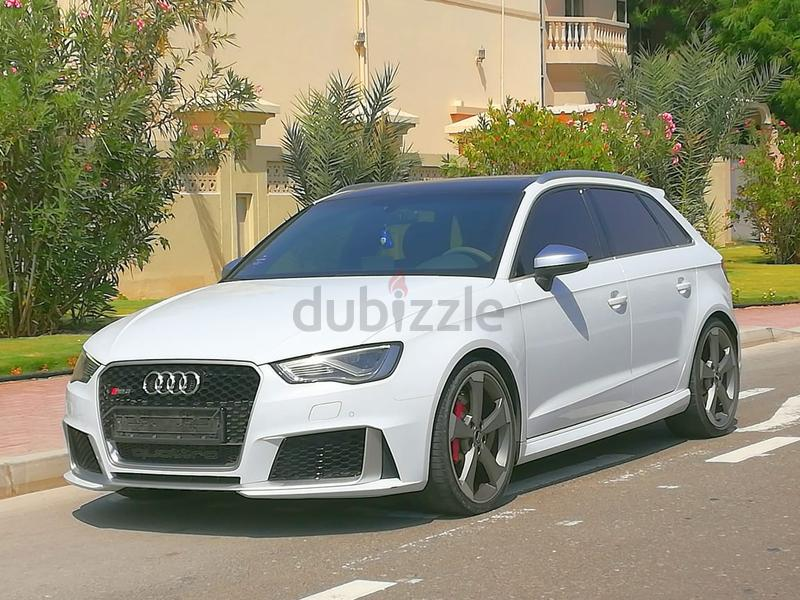 Audi Rs3 2016 With Service Contract