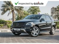 Mercedes-Benz M-Class 2013 AED1448/month | 2013 Mercedes-Benz ML350 3.5L...