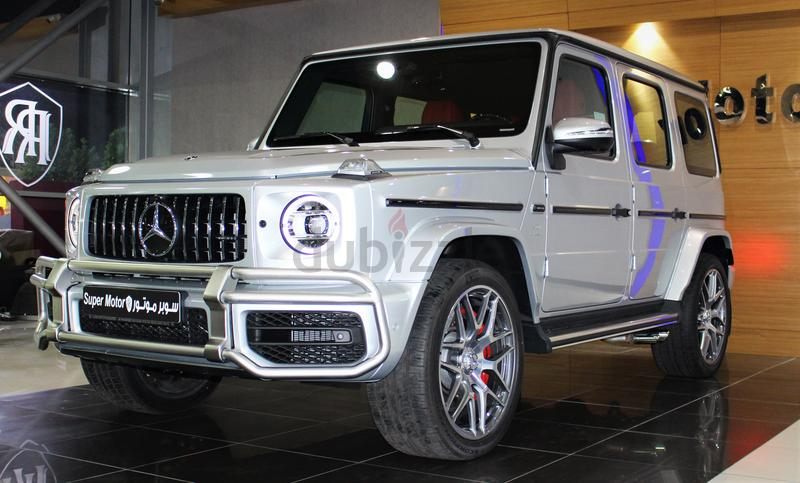 G63 - FULL CARBON FIBER - SILVER METALLIC - 2019 - GCC GARGASH WARRANTY +  CONTRACT SERVICE